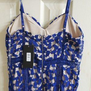 Lac Bleu Dresses - NWT Blue midi dress